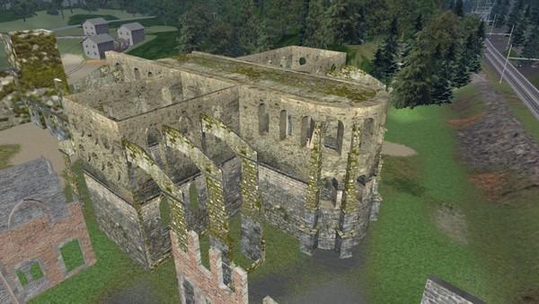 Ruines - Villers - Eglise abbatiale1